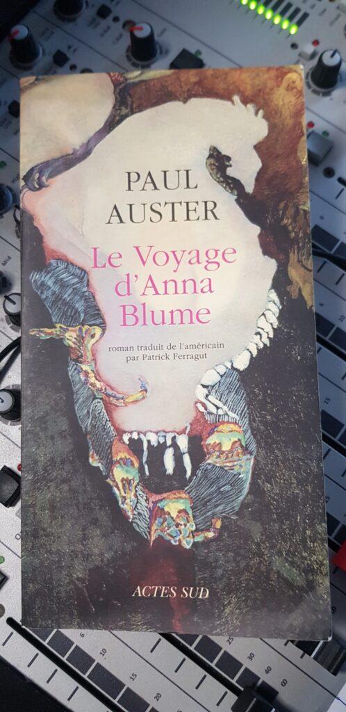 Le Voyage d'Anna Blum de Paul Auster