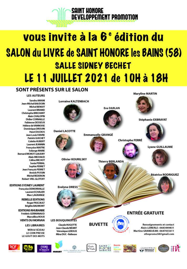 Affiche salon du Livre 2021